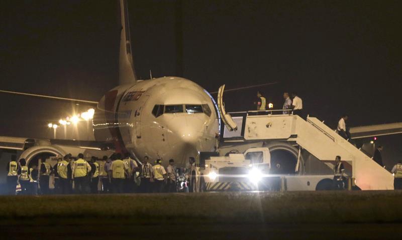 马航客机因技术问题折返吉隆坡
