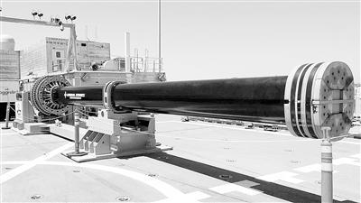 俄罗斯电磁轨道炮的炮弹速度接近第一宇宙速度