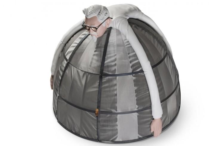 肯德基推互联网逃生舱:让你安心和好友享用全家桶