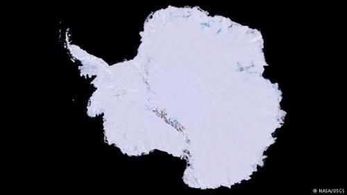 南极冰川正在从下方融化 致海平面上升