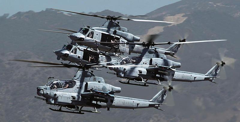 """从""""眼镜蛇""""到""""毒蛇"""",贝尔AH-1Z武装直升机研发史"""