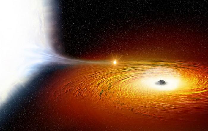 研究人员发现银河系中心附近数万个黑洞的证据