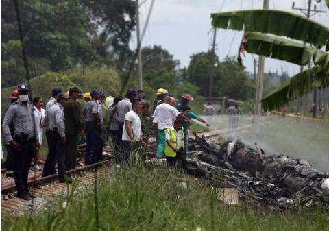 古巴哈瓦那客机坠毁事故已致超过100人死亡 3名幸存者伤情严重